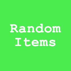 random-items-green